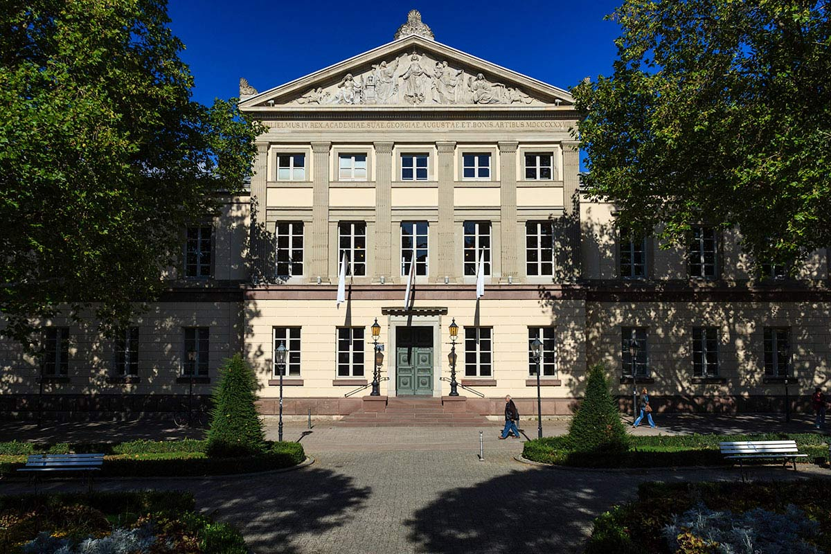 Aula der Georg August Universität am Wilhelmsplatz / Assembly Hall of the Georg August University at Wilhelmsplatz; Copyright: Göttingen Tourismus e.V.