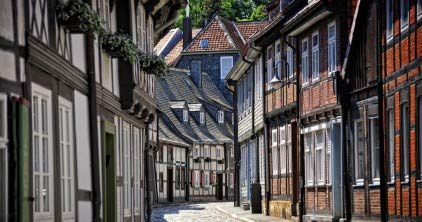 Goslar Altstadt / Old Town disctrict; Copyright GOSLAR Marketing GmbH
