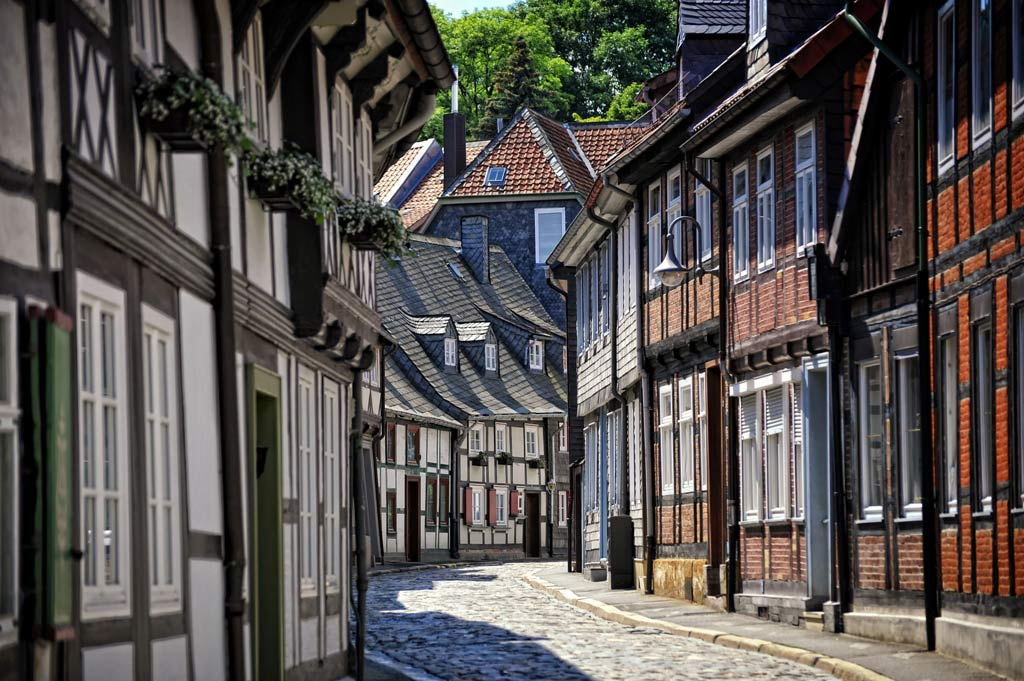 Goslar Altstadt / Old Town district; Copyright GOSLAR Marketing GmbH