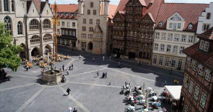 Historischer Marktplatz/ Historic Market Place; Copyright: Hildesheim Marketing