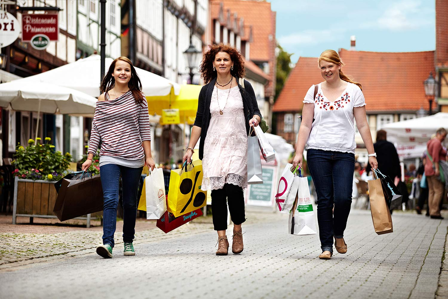 Shopping in Celle c) Celle Tourismus und Marketing GmbH
