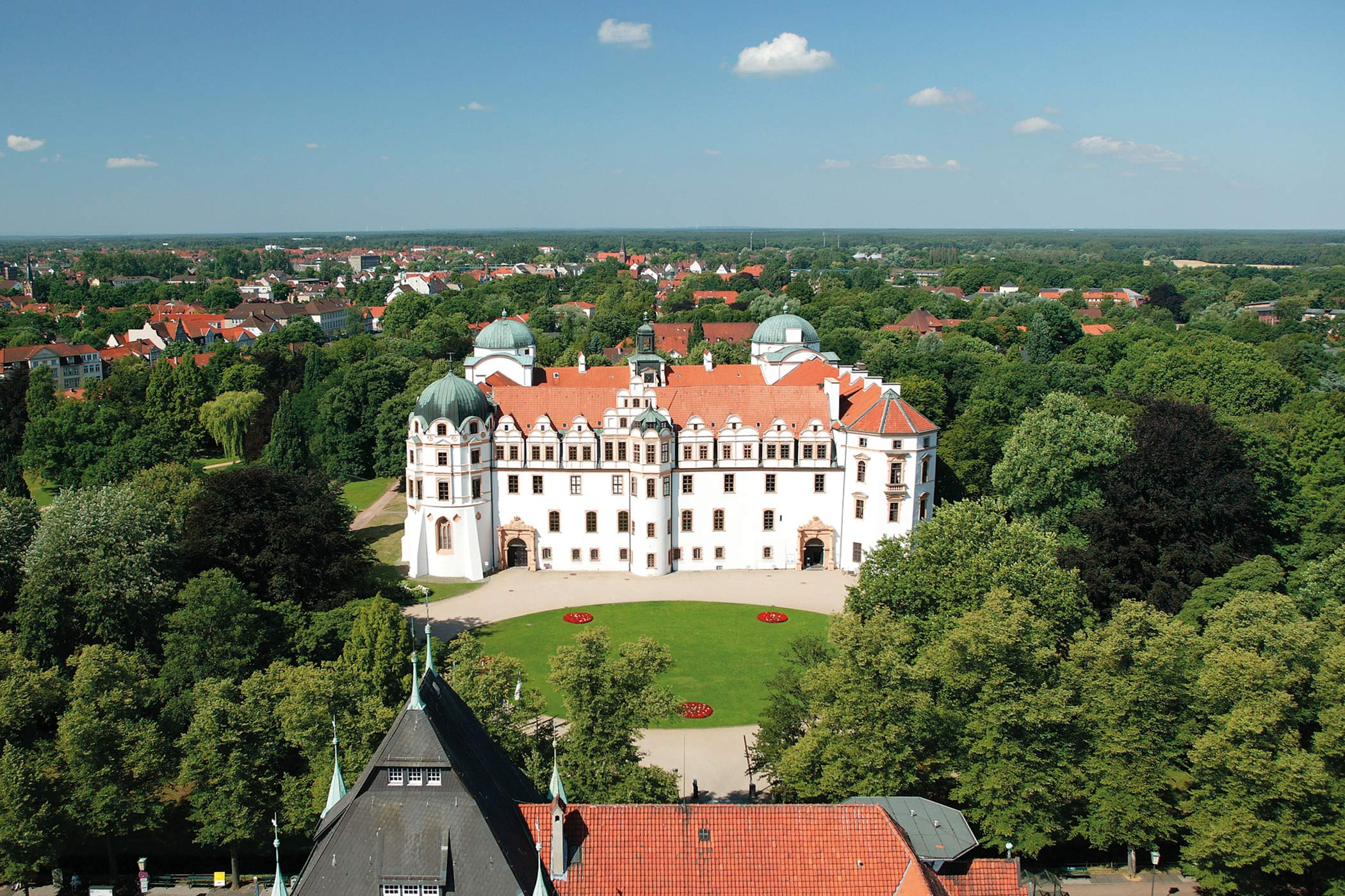Celle Schloss / Palace c) Celle Tourismus und Marketing GmbH