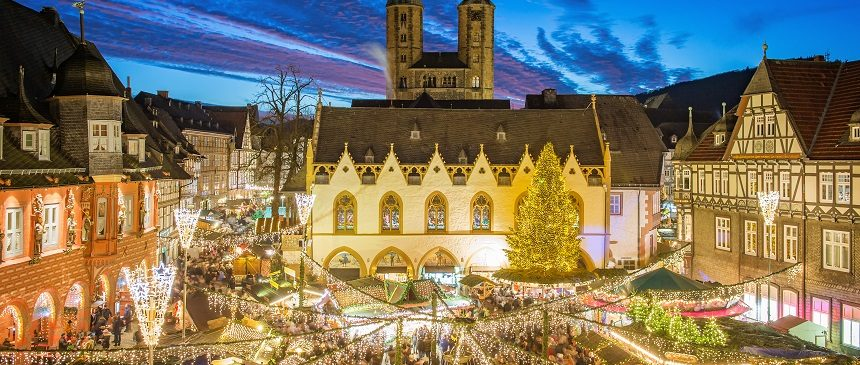 Weihnachtsmarkt in Goslar c) GOSLAR marketing gmbh / Stefan Schiefer