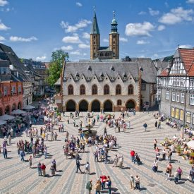 Marktplatz Goslar c) GOSLAR marketing gmbh Stefan Schiefer