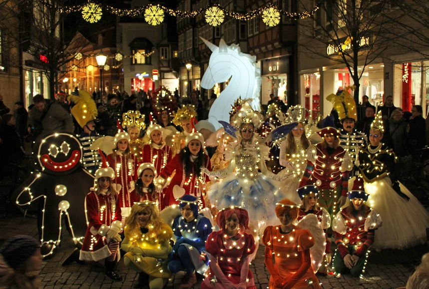 Celle Lichterparade c) Celle Tourismus und Marketing GmbH
