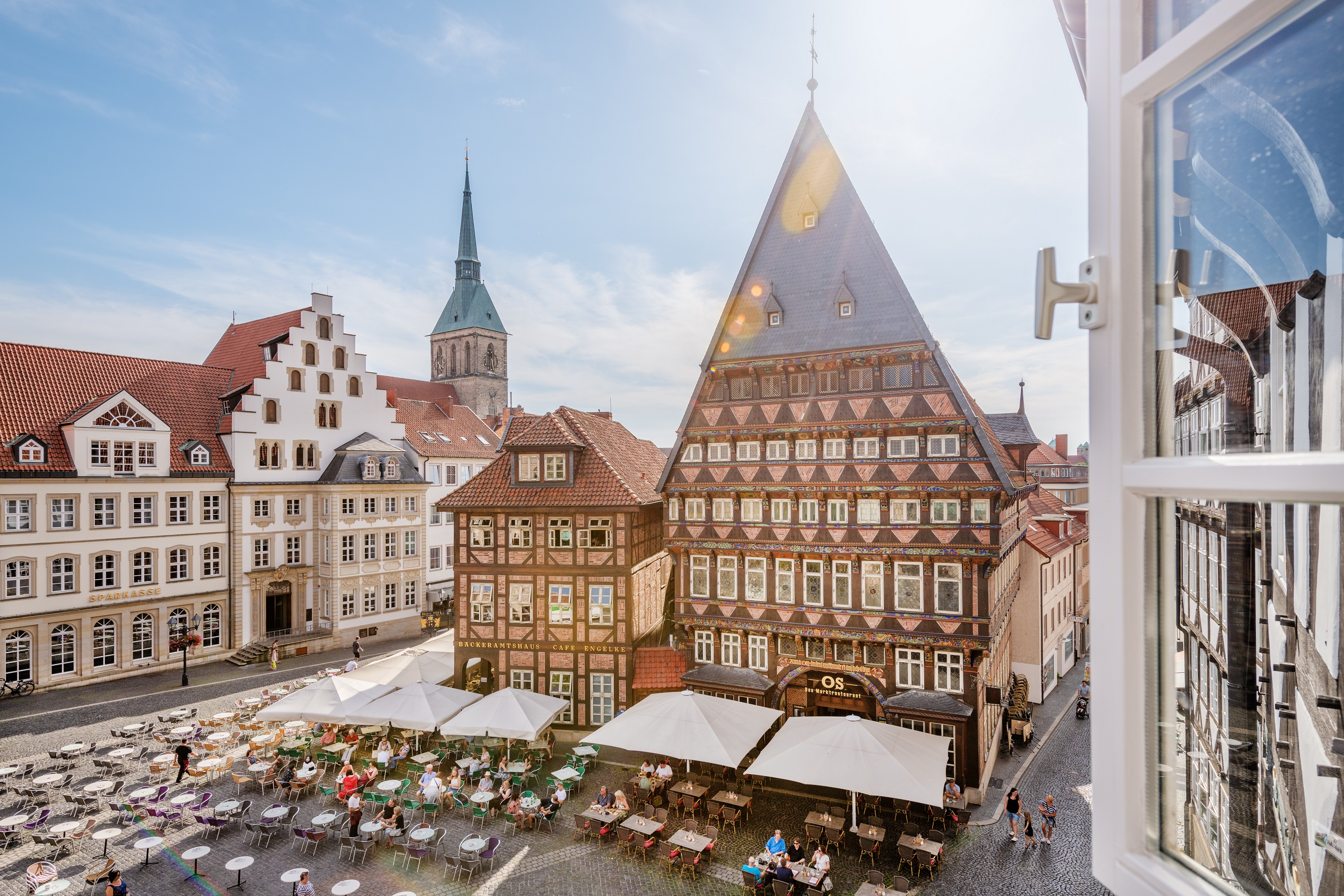 Historischer Marktplatz © Hildesheim Marketing, Foto Dagmar Schwelle