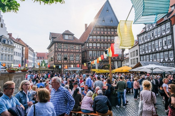 Hildesheiimer Weinfest c) Hildesheim Marketing