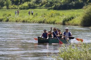 Hameln sustainable: canoe tours at the river Weser c) HMT