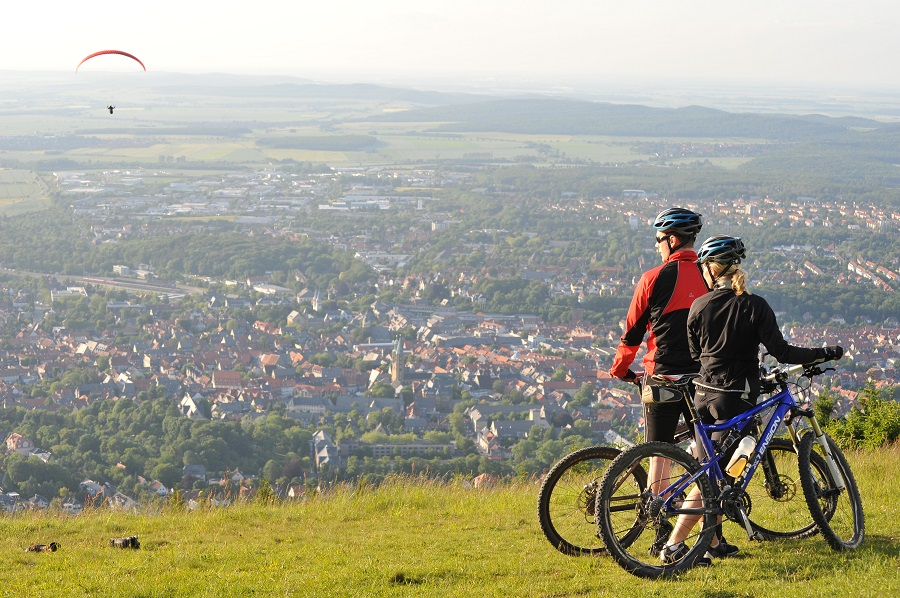 Goslar nachhaltig: Mountainbiking_Panorma_GOSLAR_marketing_gmbh_Fotograf_Stefan_Schiefer